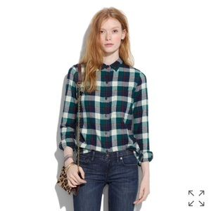 Madewell Broadway and Broome Country Flannel Shirt
